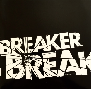 "Breaker Breaker ‎- Demo Y2X1 EP (7"") (Red Vinyl) (NM/EX+)"